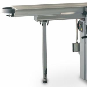 FELDER Abstützfuß für Schiebetisch für alle Maschinen mit Fahreinrichtung und Schnittlänge 2000mm