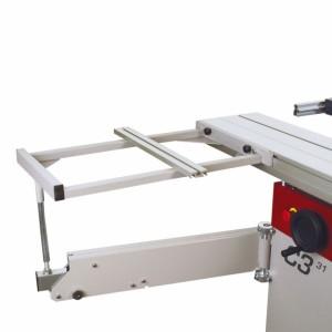 HAMMER Auslegertisch 1100/2000, für Formatschiebtischlänge bis 2000 mm