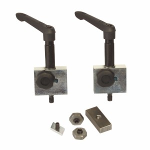 Aufnahmesystem für Ablänganschlag auf Auslegertisch, L 1.300mm