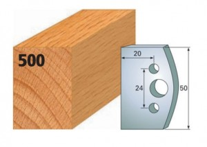 Profilmesser bzw. Abweiser Nr. 500