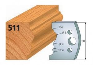 Profilmesser bzw. Abweiser Nr. 511