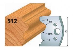Profilmesser bzw. Abweiser Nr. 512