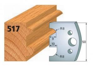 Profilmesser bzw. Abweiser Nr. 517
