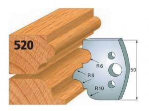 Profilmesser bzw. Abweiser Nr. 520