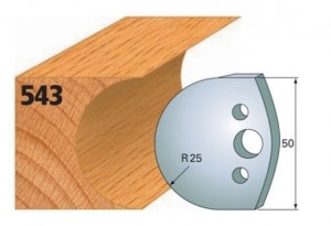 Profilmesser bzw. Abweiser Nr. 543