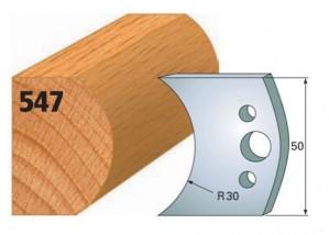 Profilmesser bzw. Abweiser Nr. 547