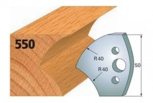 Profilmesser bzw. Abweiser Nr. 550