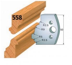 Profilmesser bzw. Abweiser Nr. 558