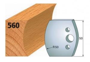 Profilmesser bzw. Abweiser Nr. 560