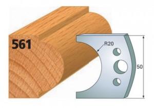 Profilmesser bzw. Abweiser Nr. 561