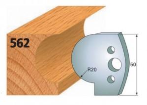 Profilmesser bzw. Abweiser Nr. 562