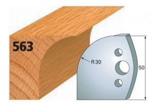 Profilmesser bzw. Abweiser Nr. 563