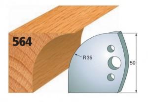 Profilmesser bzw. Abweiser Nr. 564