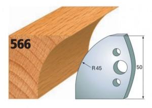 Profilmesser bzw. Abweiser Nr. 566