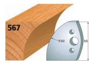 Profilmesser bzw. Abweiser Nr. 567