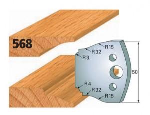 Profilmesser bzw. Abweiser Nr. 568
