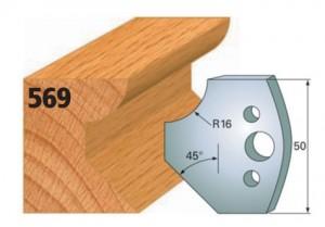 Profilmesser bzw. Abweiser Nr. 569
