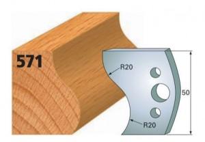 Profilmesser bzw. Abweiser Nr. 571