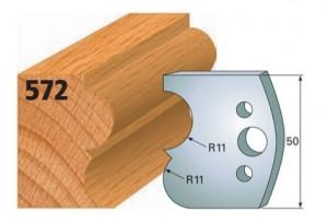 Profilmesser bzw. Abweiser Nr. 572
