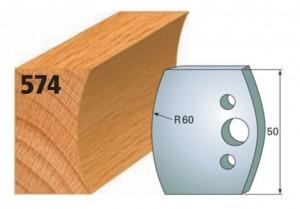 Profilmesser bzw. Abweiser Nr. 574