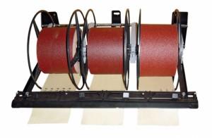 Schleifpapier Abrollgerät-SET