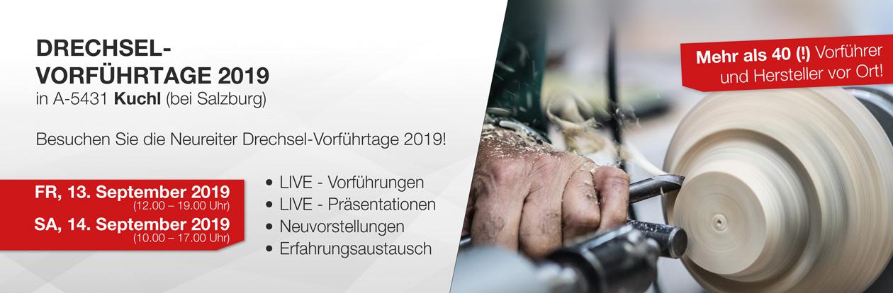 Neureiter Drechsel-Vorführtage 2019