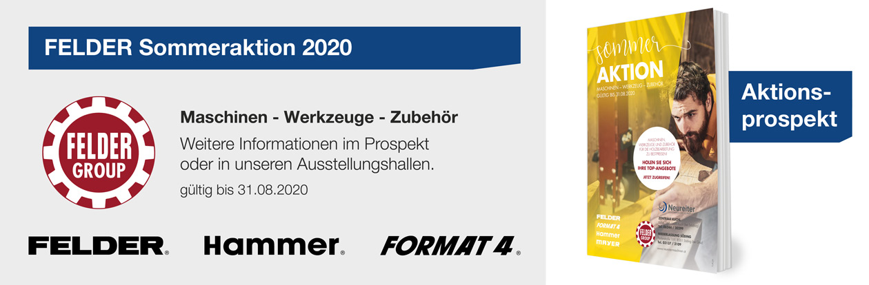 FELDER Sommeraktion 2020