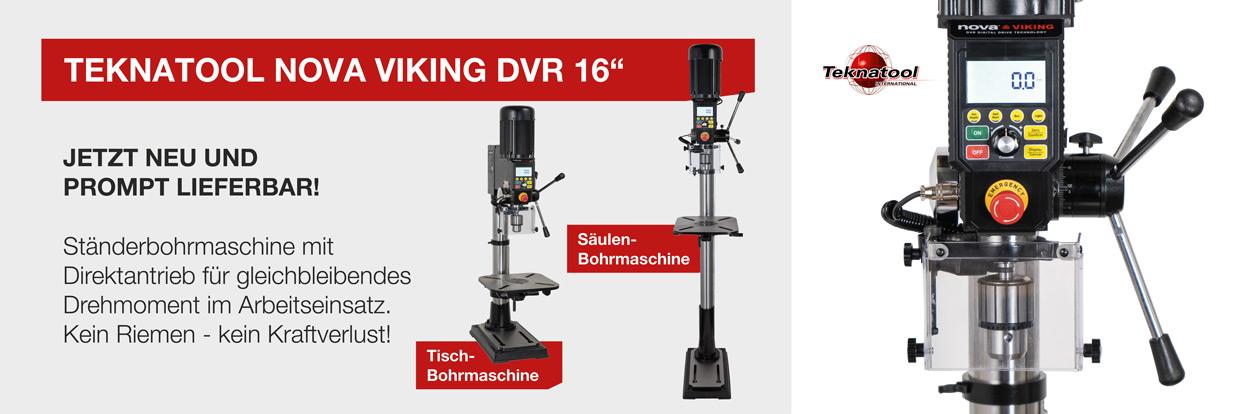 NOVA VIKING DVR 16'' Säulenbohrmaschine