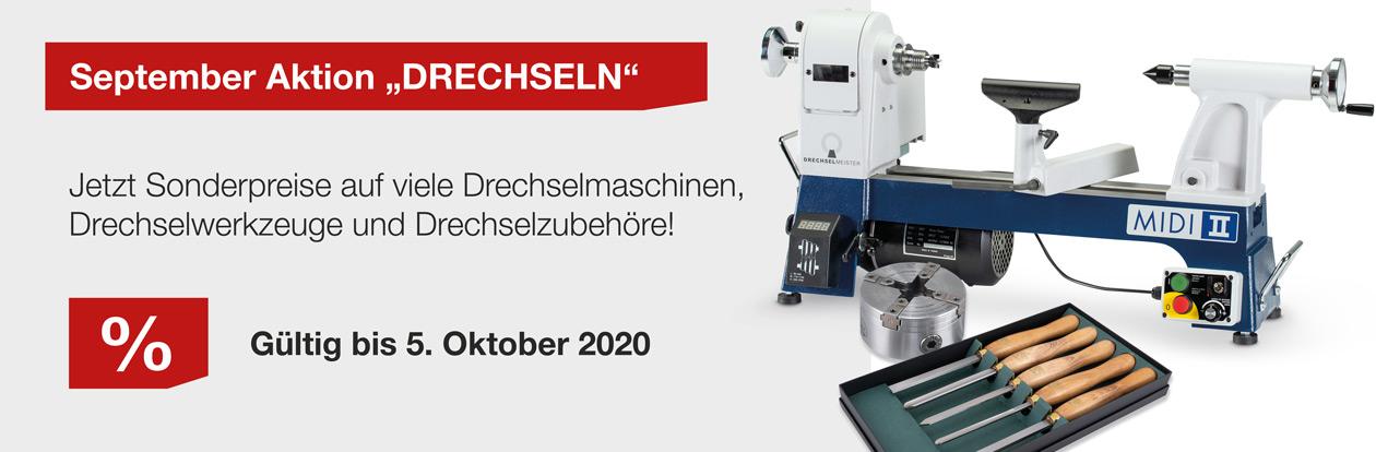 September-Aktion Drechseln 2020