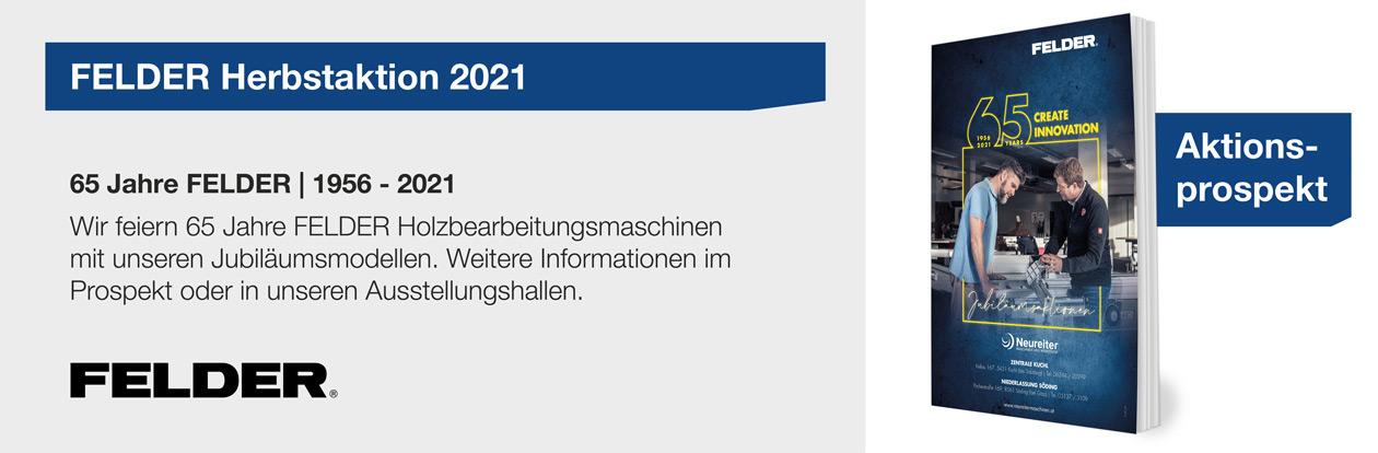 FELDER Herbstaktion 2021
