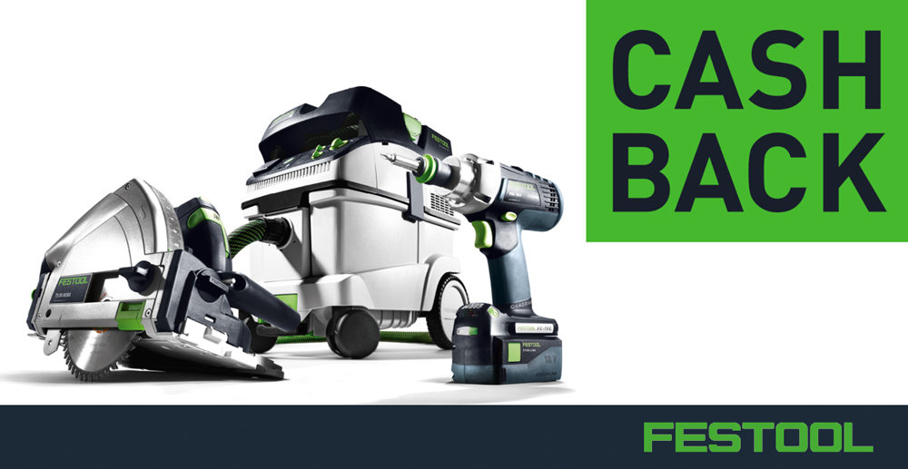 FESTOOL Cash Back